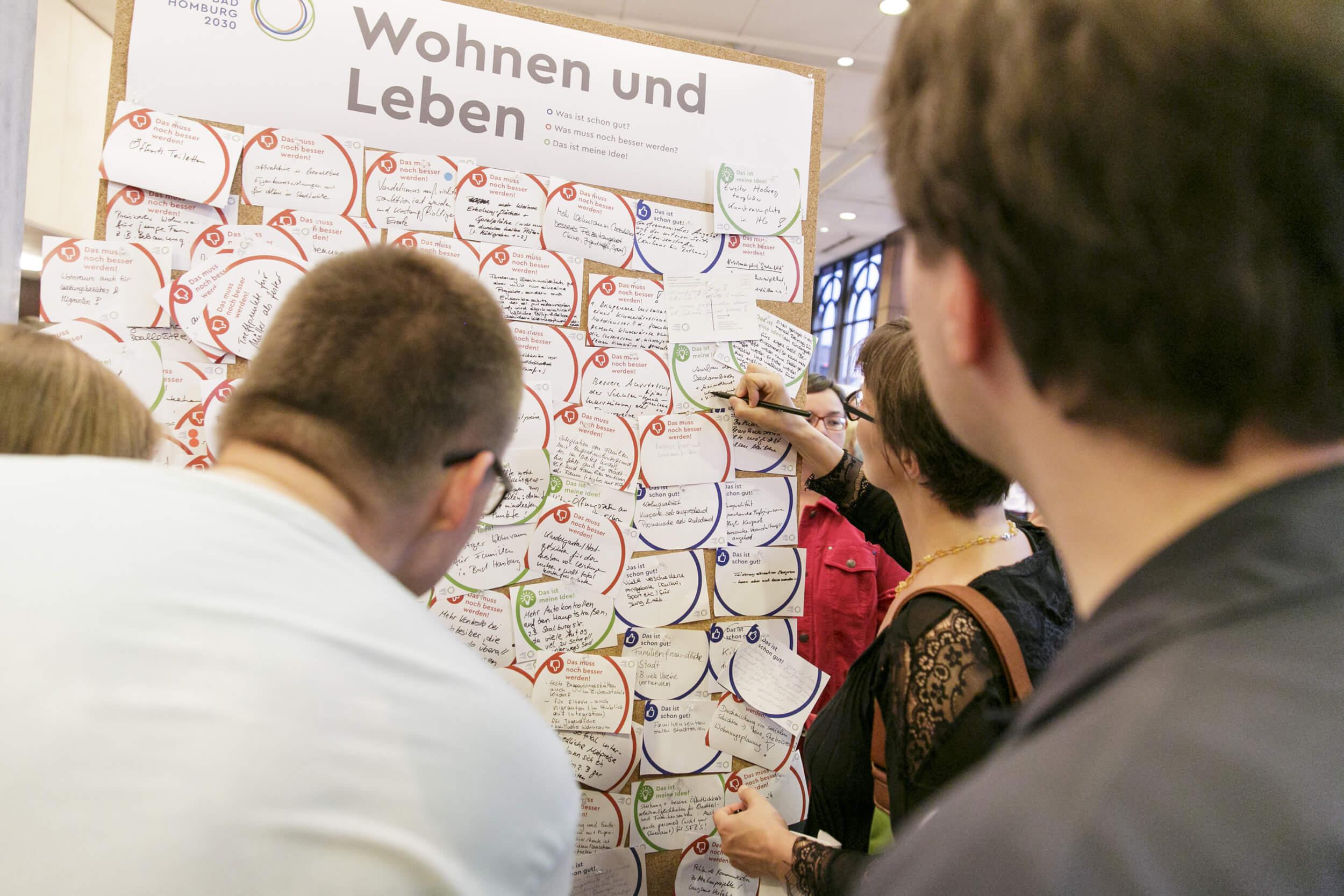 Fokus Zukunft: Bad Homburg 2030 - Ideensammlung