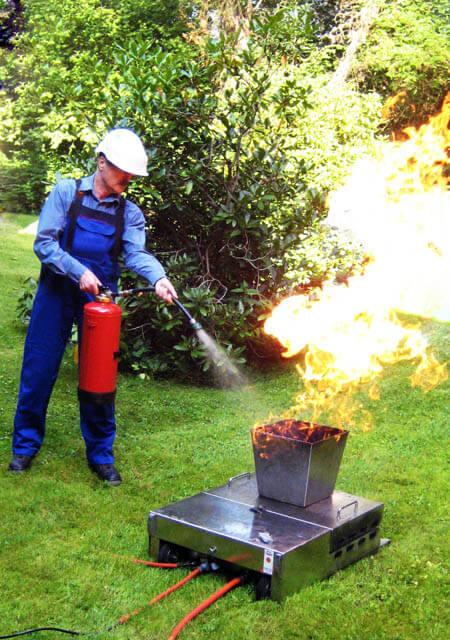 Brandschutzschulung in der Praxis