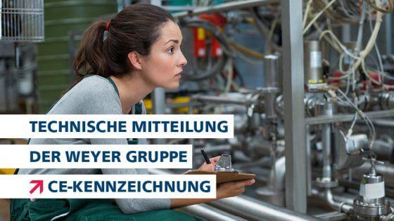 technische Mitteilung CE Kennzeichnung Headerbild